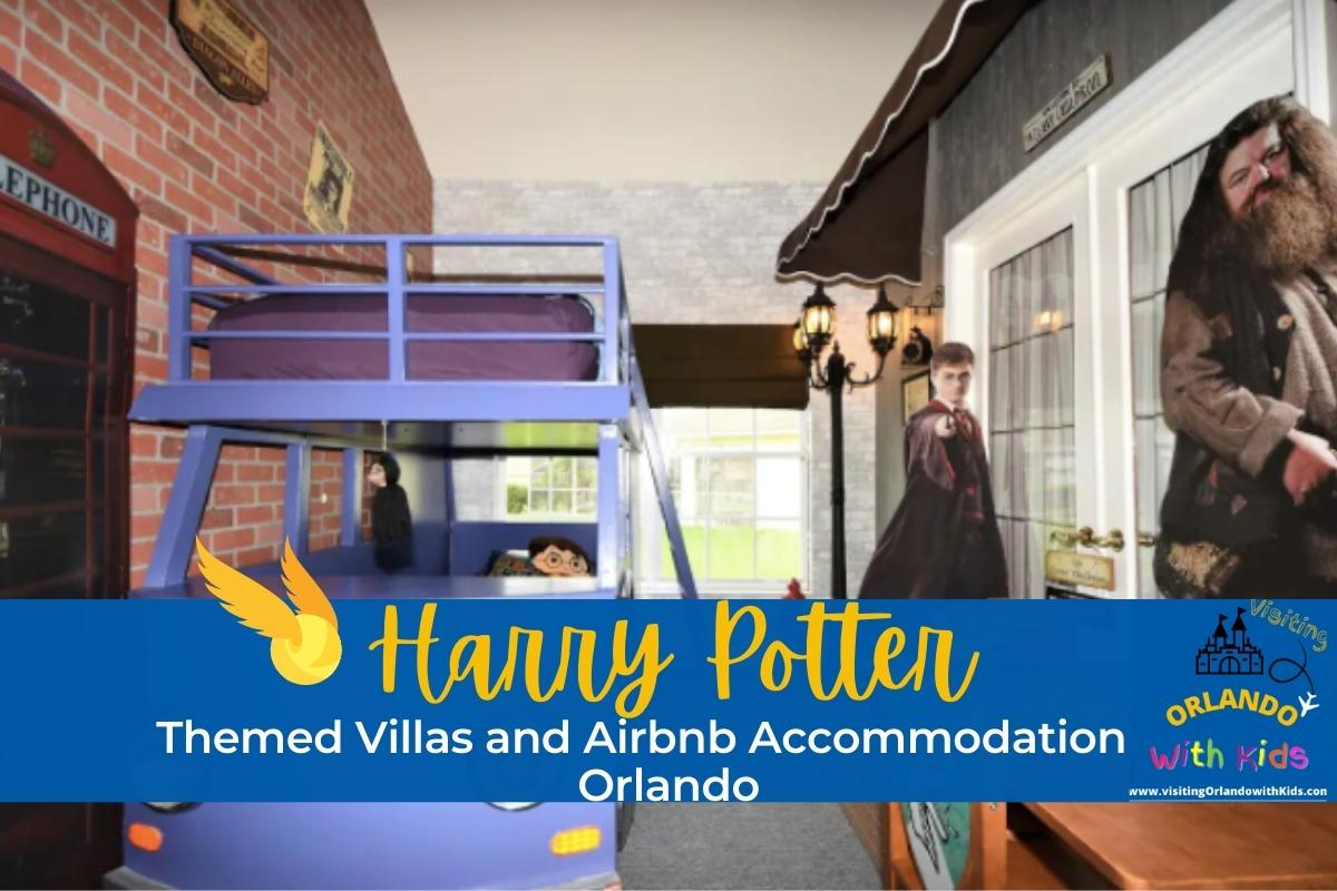 Harry Potter Themed Villas and Airbnb Accommodation in Orlando
