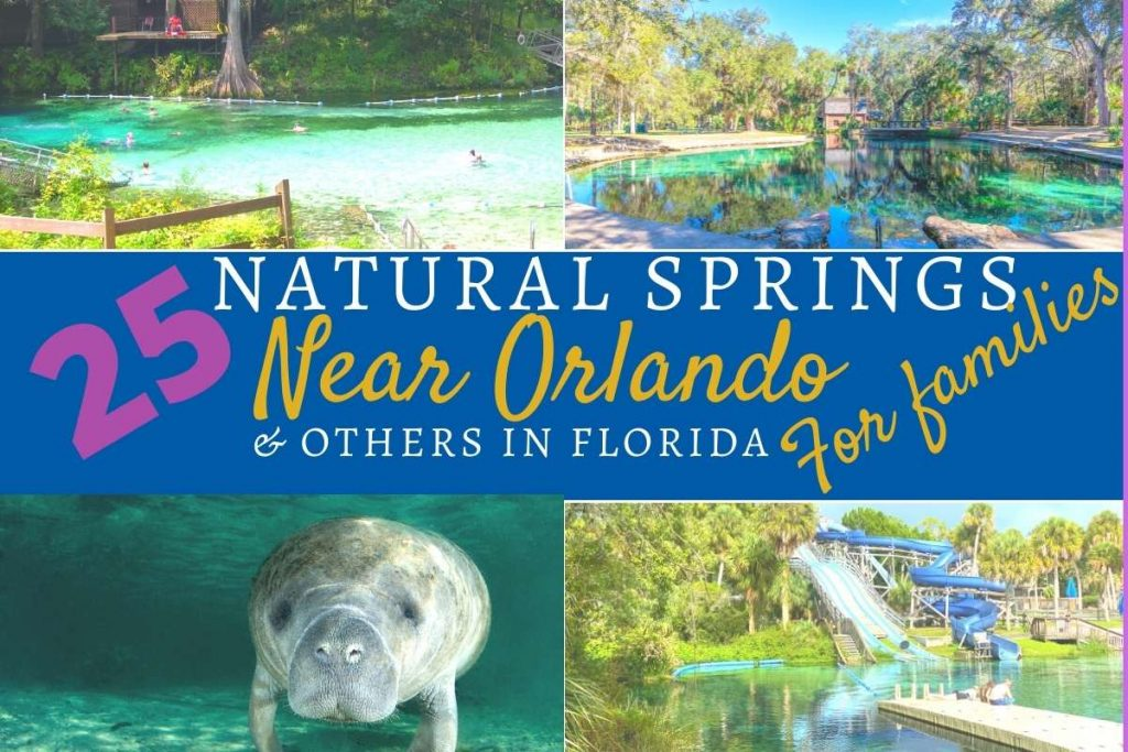 25 natural springs Near Orlando for families