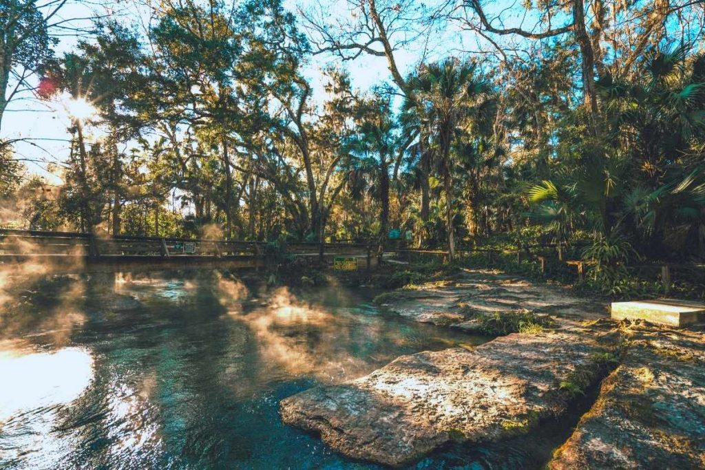 Kelly Park Rock Springs near Orlando Florida