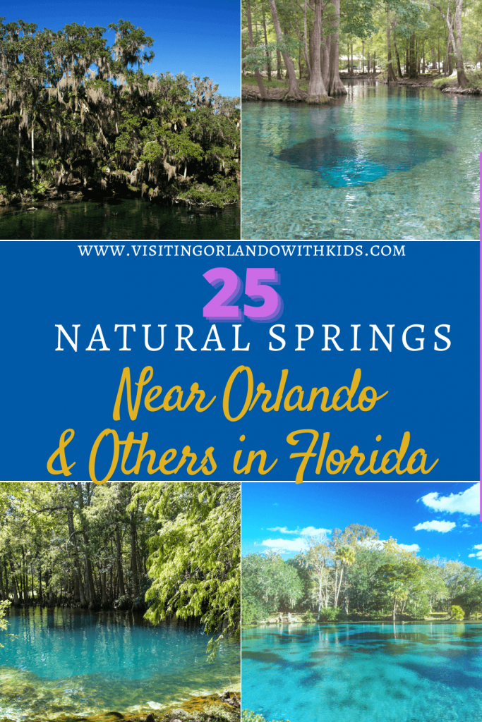 25 Natural Springs Near Orlando & Others in Florida