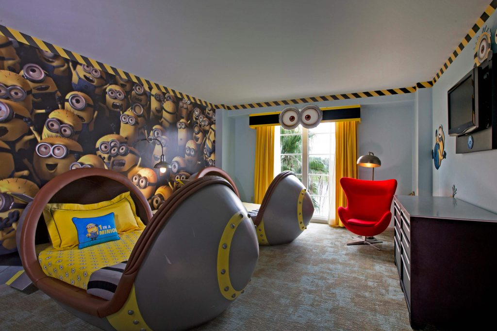 Despicable Me Kids Suites - image courtesy of Loews