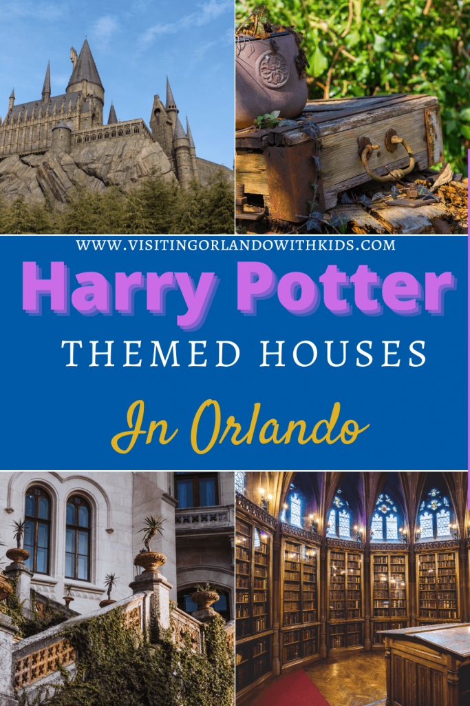 Harry Potter Themed Houses in Orlando