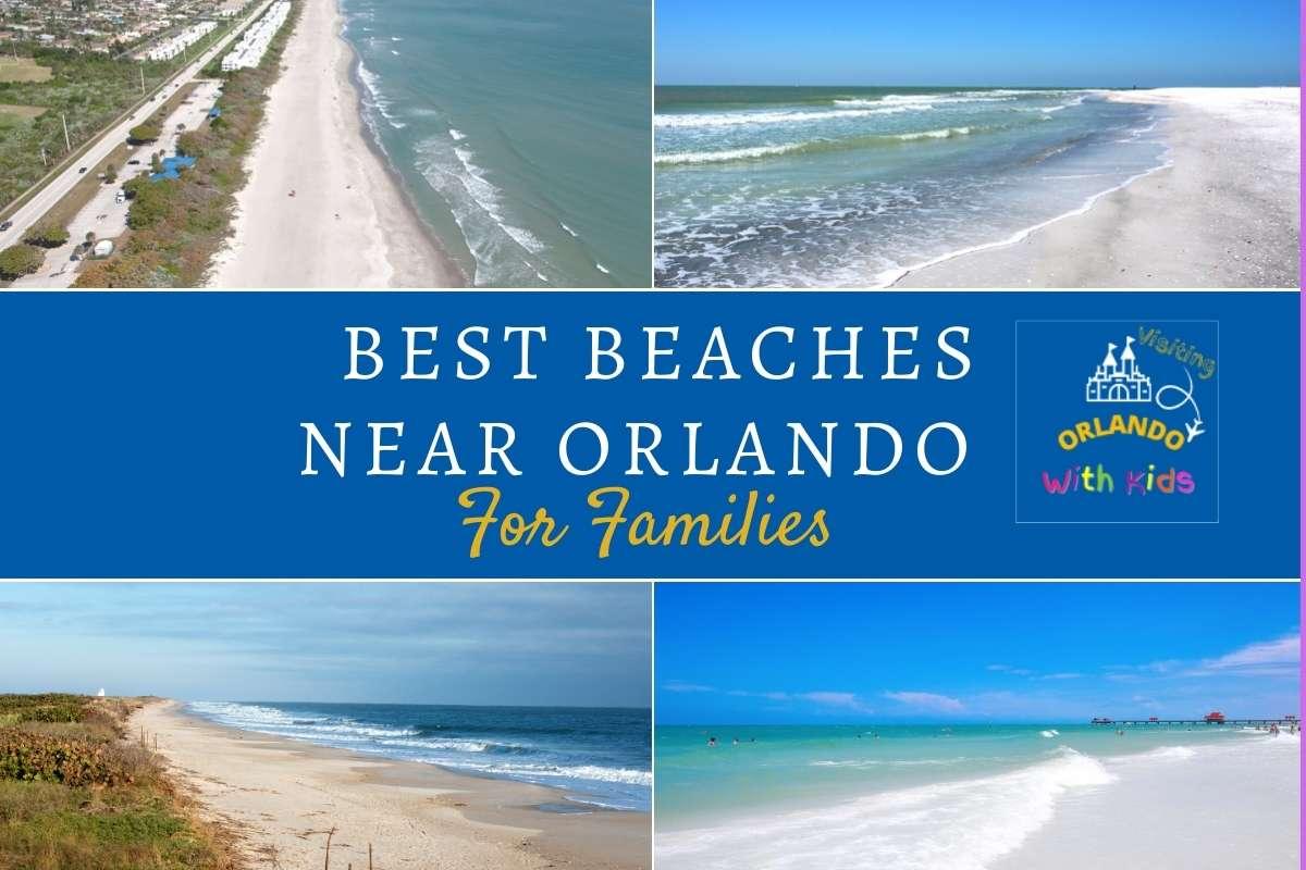 best beaches near Orlando for families
