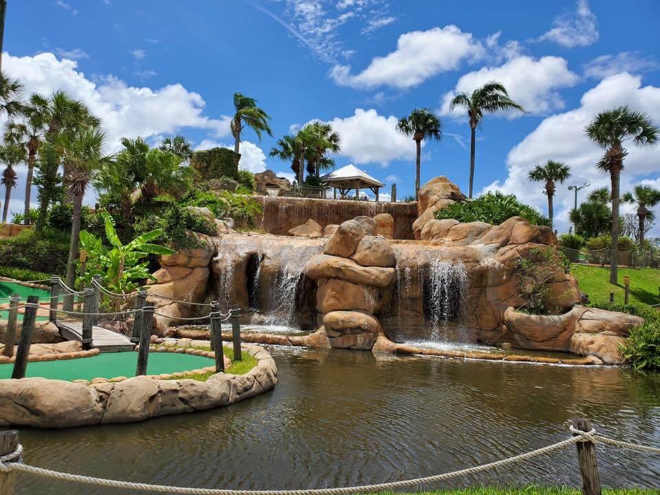 Lost Caverns Mini Golf, Orlando
