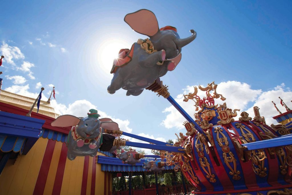 Dumbo is one of the Fun Things to Do with Baby at Disney World