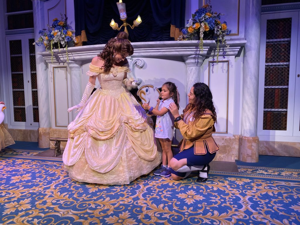 Enchanted Tales with Belle, Disney World, Best Rides At Disney World for Babies and Toddlers