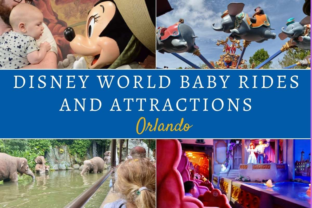 Disney World baby rides and attractions