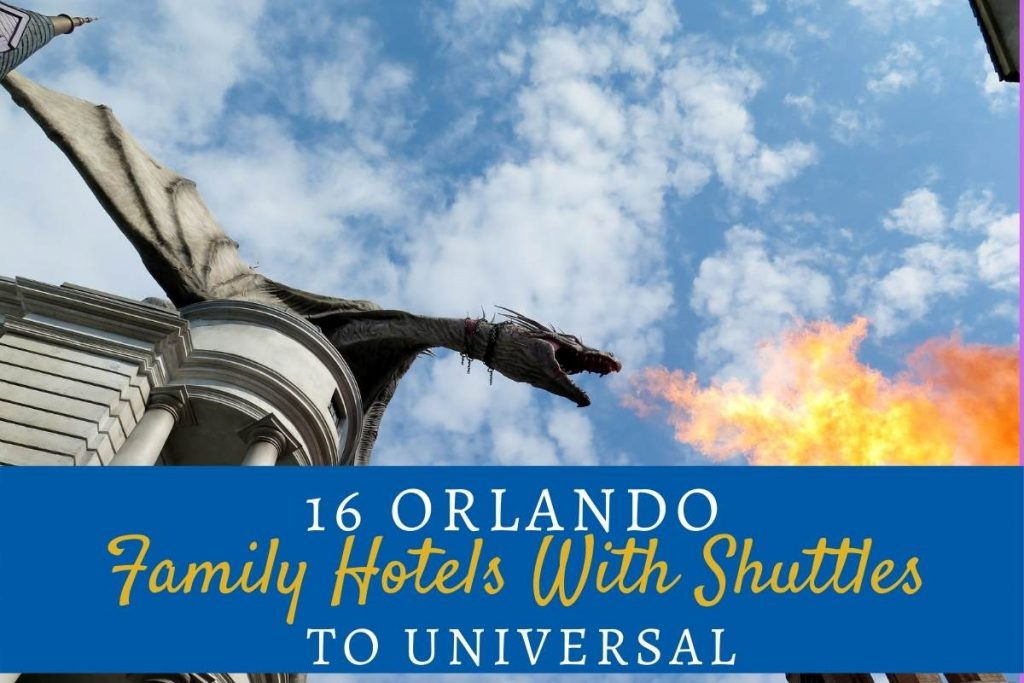 Family Hotels With Shuttles to Universal Studios Orlando