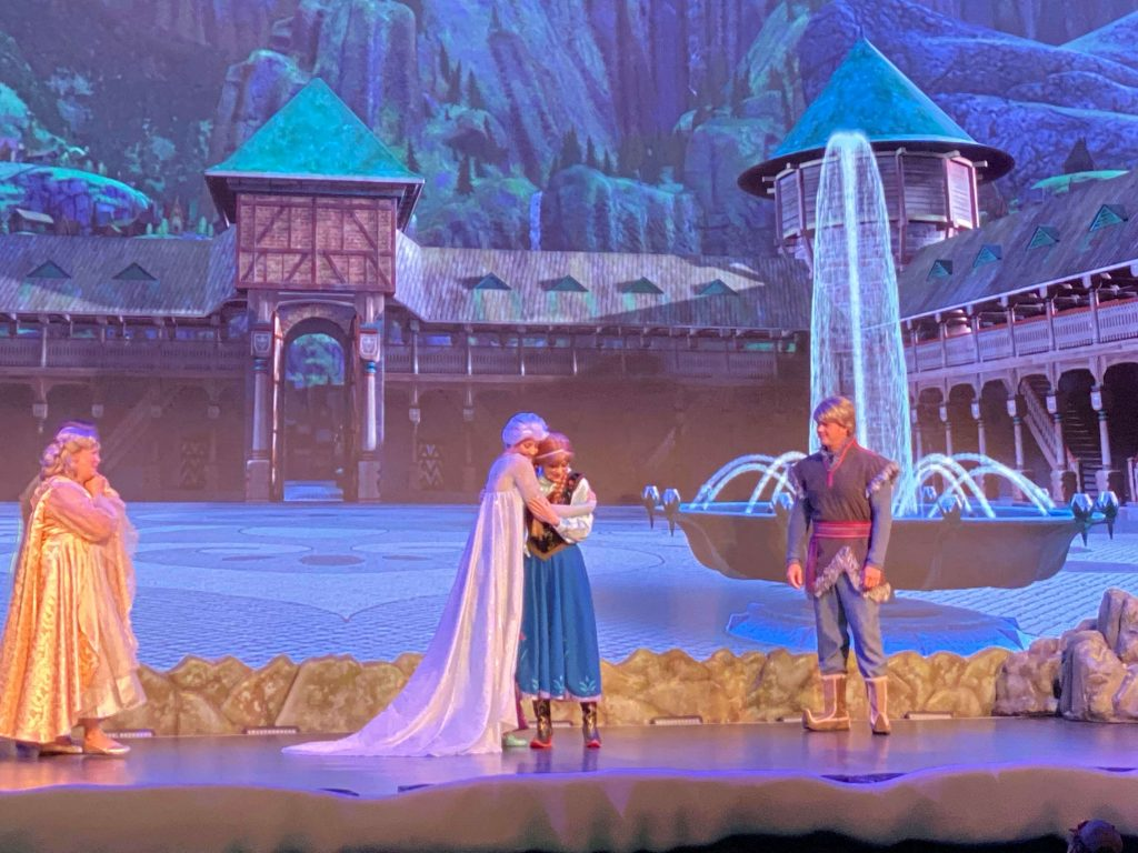 Frozen Sing-Along Celebration, Disney World is a favorite attraction /Best Rides At Disney World for Babies and Toddlers