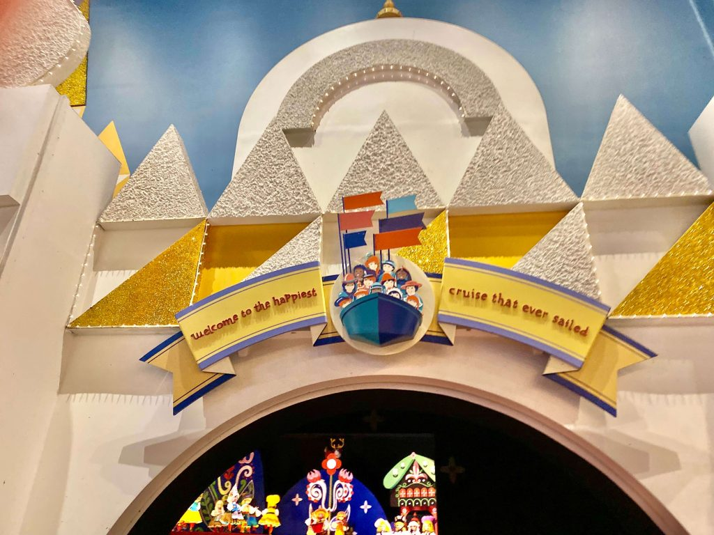 It's a Small World, Disney World ride for babies and toddlers