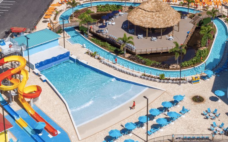 Westgate Lakes resort and Spa new Treasure Cove Water Park. Image courtesy of hotel.