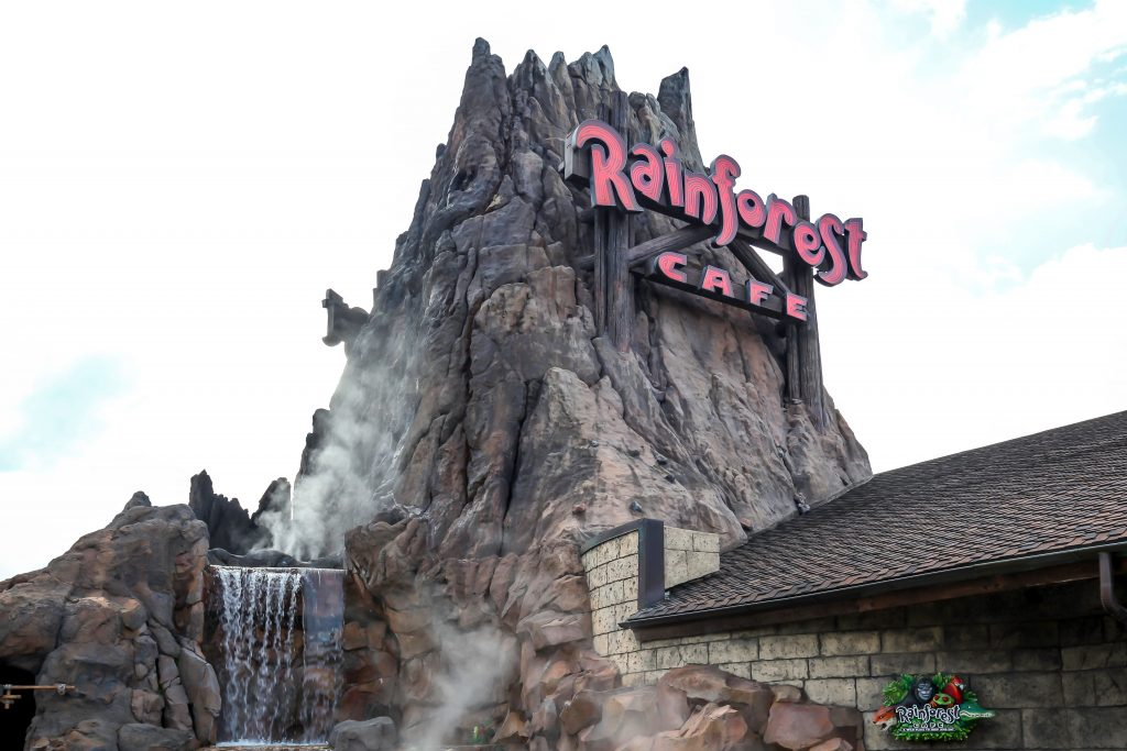 The Rainforest Cafe Volcano, Free Things to do at Disney Springs, Orlando