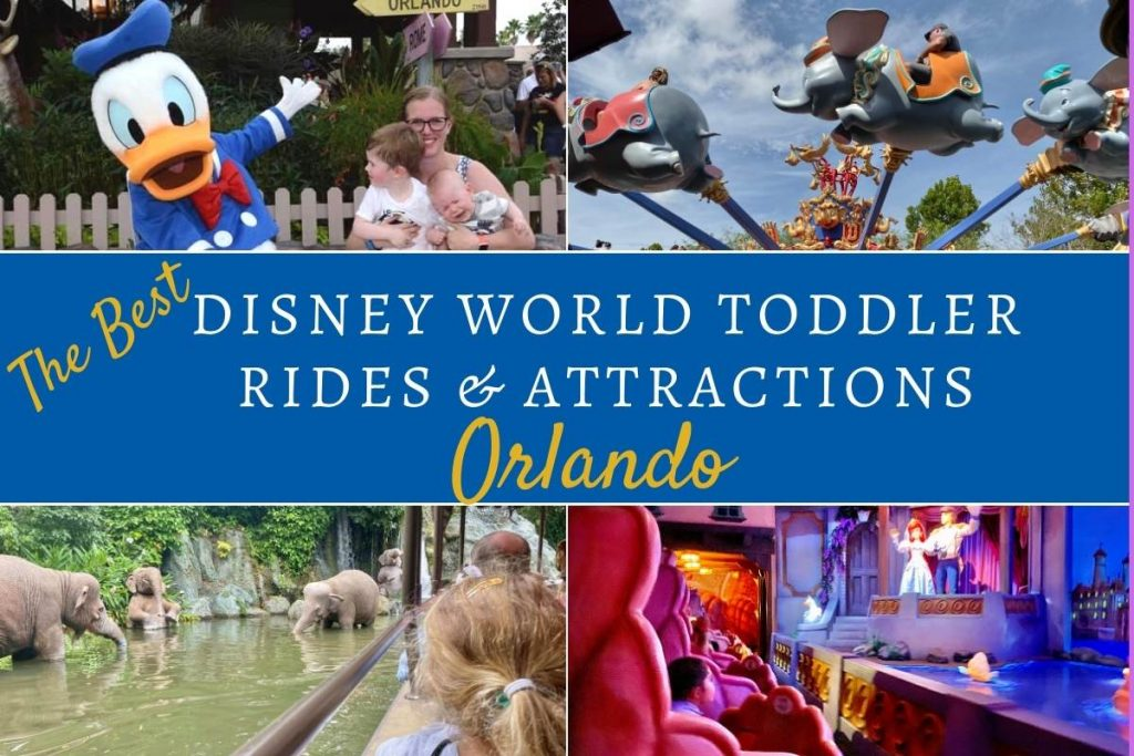 Disney World Toddler Rides and Attractions