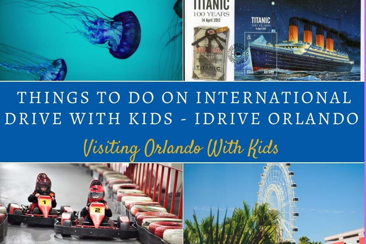 Things To Do On International Drive With Kids - iDRIVE Orlando
