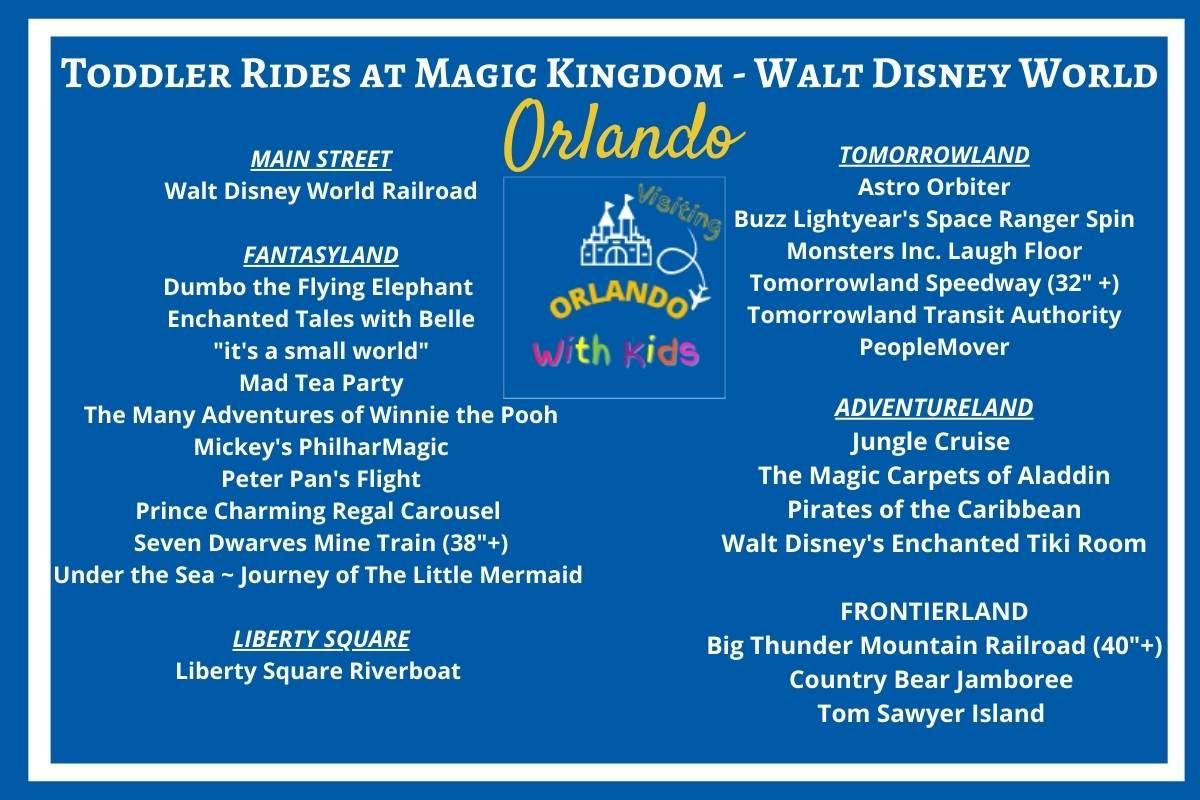 Toddler Rides at Magic Kingdom