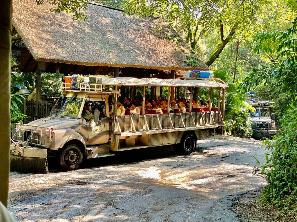 Kilimanjaro Safari at Animal Kingdom in Walt Disney World is great for babies and toddlers