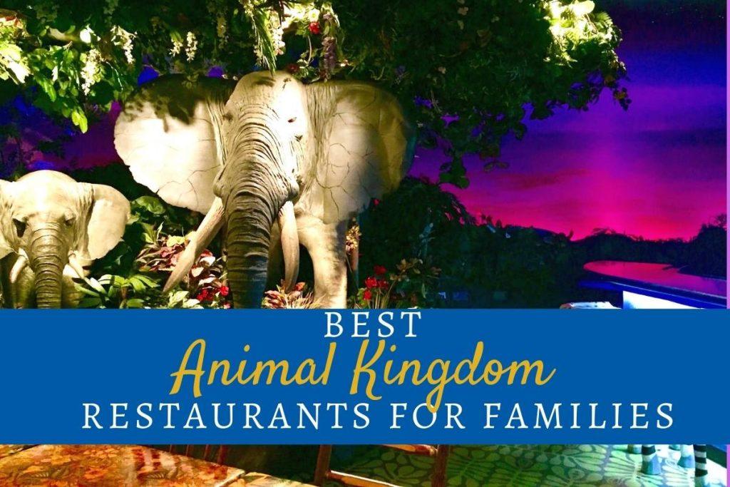 Best Animal Kingdom Restaurants for Families