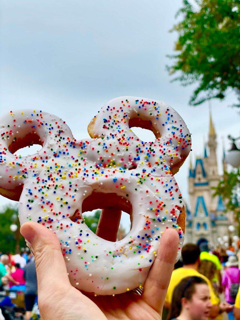 Mickey donut from Main Street Bakery