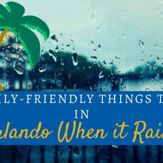family friendly things to do in Orlando when it rains