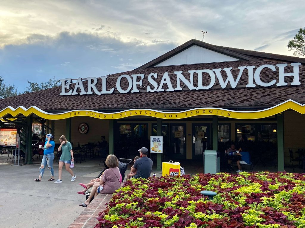Earl Of Sandwich, Disney Springs Orlando