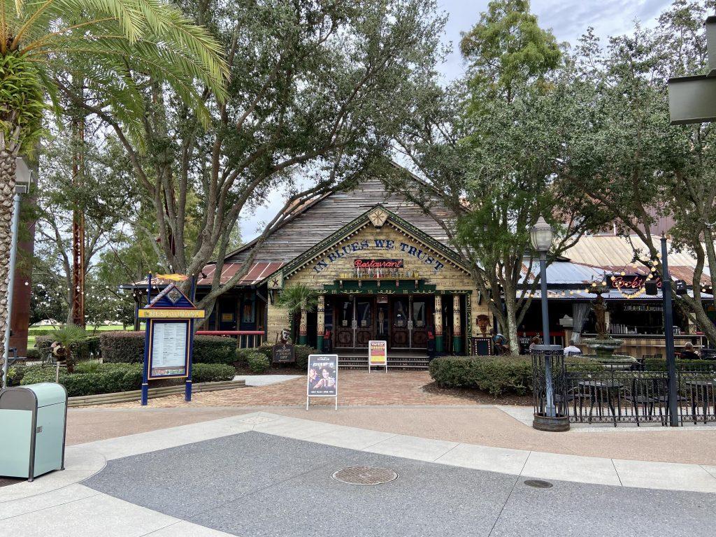 House of Blues Restaurant at Disney Springs, orlando