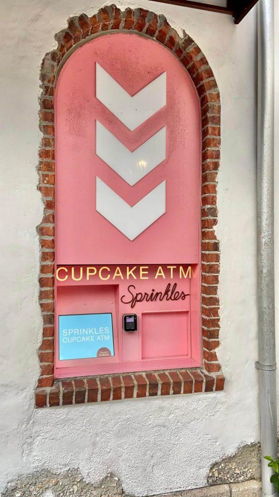 Sprinkles ATM at DIsney Springs, Orlando